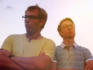 Alex und Stefan